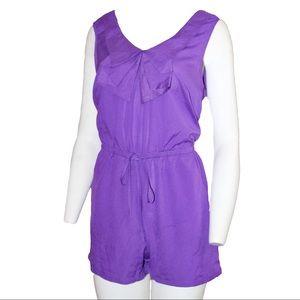 Women's Purple Romper Size L